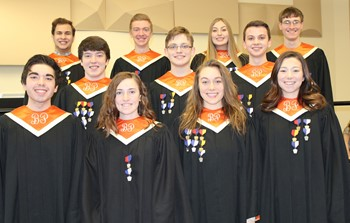 All-State Chorus vocalists