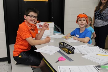 Washington students at the Gifted Challenge Cup