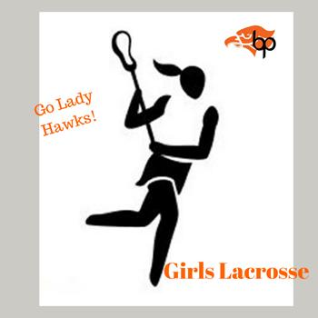 Girls lacrosse logo