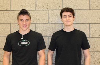Brandon Hartman and Anthony Stephon