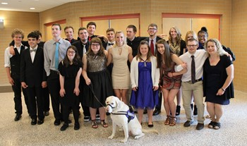The BPHS Life Skills Prom attendees