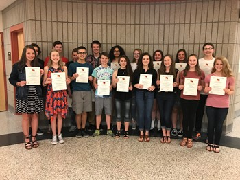 BPHS German NHS inductees