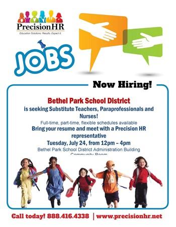 Precision Job Fair Logo