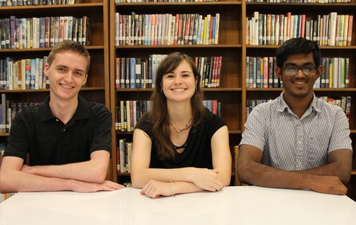BPHS's three 2019 National Merit Commended Students