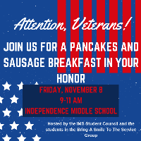 Veterans Breakfast logo