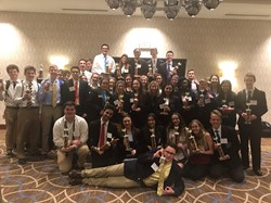The BPHS DECA District Competitors