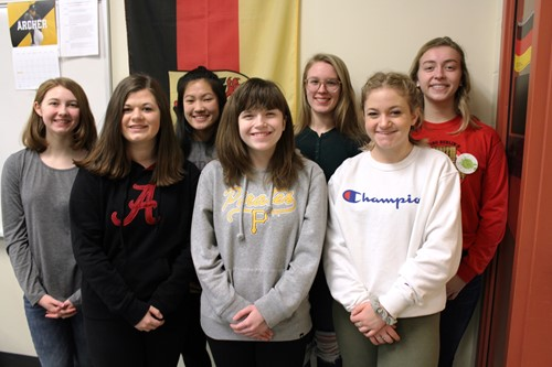 The 7 BPHS German Day Award Winners