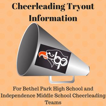 Cheerleading Tryout Logo