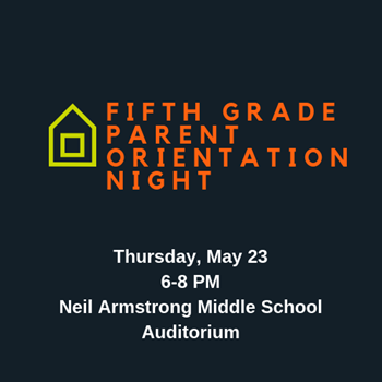 Fifth Grade Parent Orientation logo