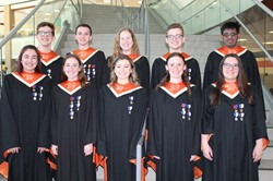 The 10 BPHS All-State Chorus Vocalists