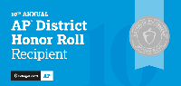 AP District Honor Roll logo