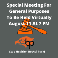 August 11 Board Meeting logo