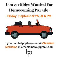 Homecoming Convertibles logo