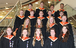 The 18 District Chorus students