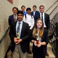 The USC Novice Tournament Winners
