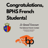 BPHS French Exam logo