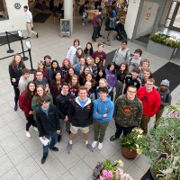 Group of students at Phipps