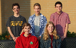 The five Commended students