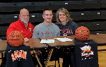 Ryan Meis and his parents