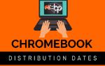 Chromebook distribution days logo