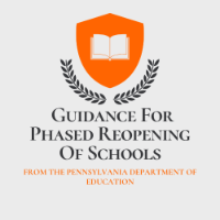 Phased Reopening of schools logo