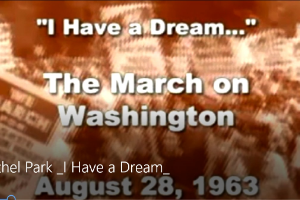 I Have A Dream video screen shot