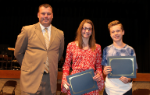 Mr. Muench and the Principal's Award Winners