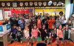 students celebrating 143 day