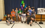 Students on Star Wars Day
