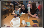 Student and parent working together