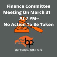 March 31 Board Meeting Logo