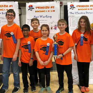 The Memorial Odyssey of the Mind Division I Champions