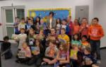 Fourth Graders and Librarian Mrs. Oczkowski