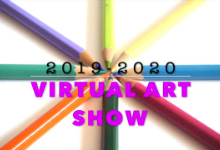 Virtual Art Show Graphic