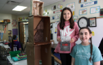 Two students and their Holocaust CBL Project