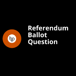 Referendum Ballot Question logo