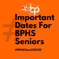 Important Dates for Seniors logo