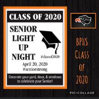 Senior Light Up Night Logo