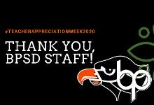 Thank You, BPSD Staff!