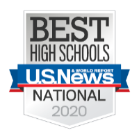 US News & World Report Best High Schools Logo