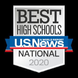 US News & World Report Best High School Logo