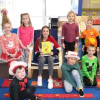 Washington students and an IMS Reader