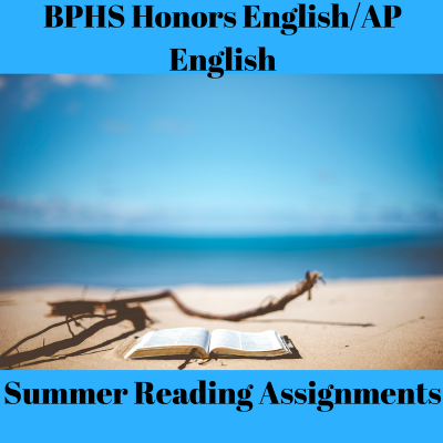 Honors English/AP English Summer Reading Assignments Logo