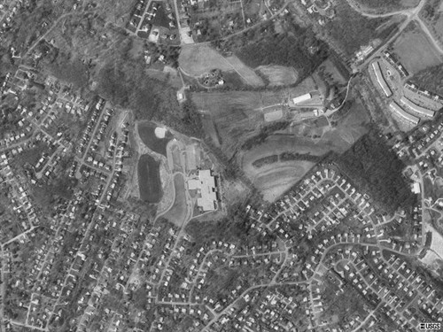 Aerial shot of NAMS from space