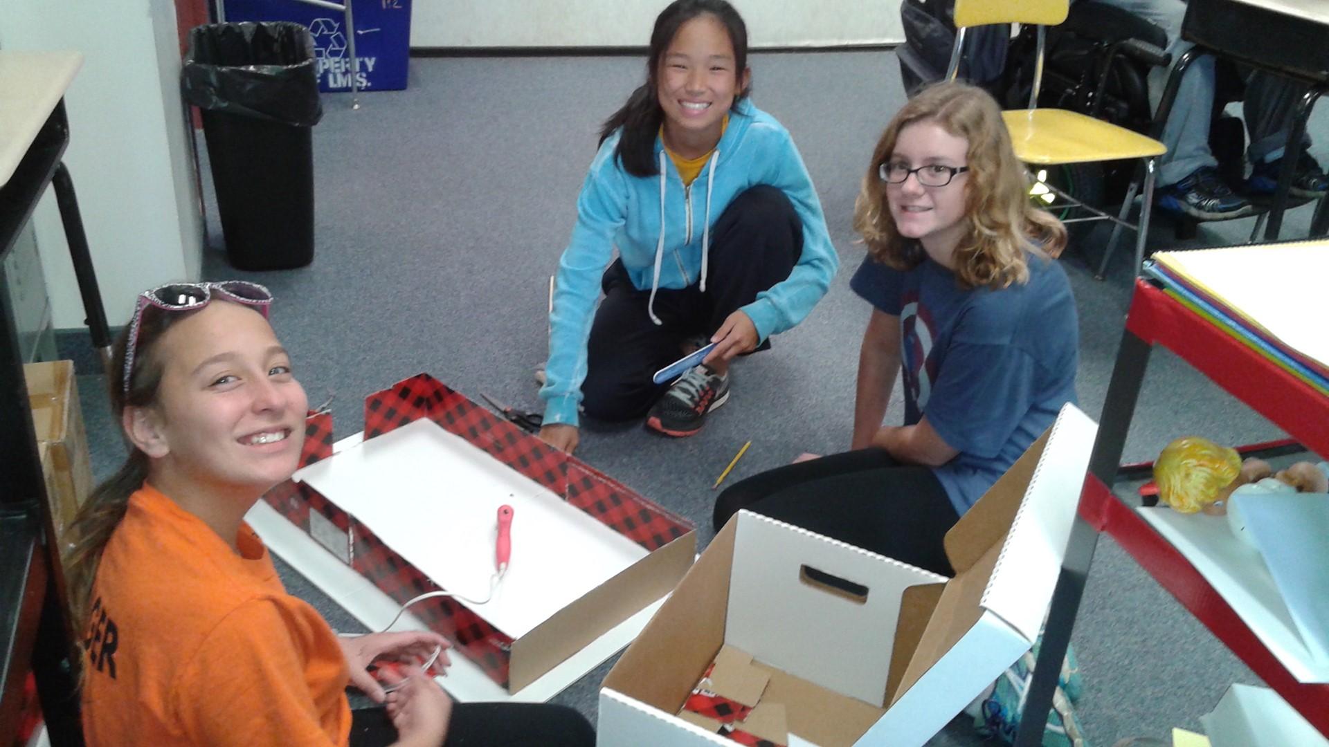 Latin students' Roman home creation