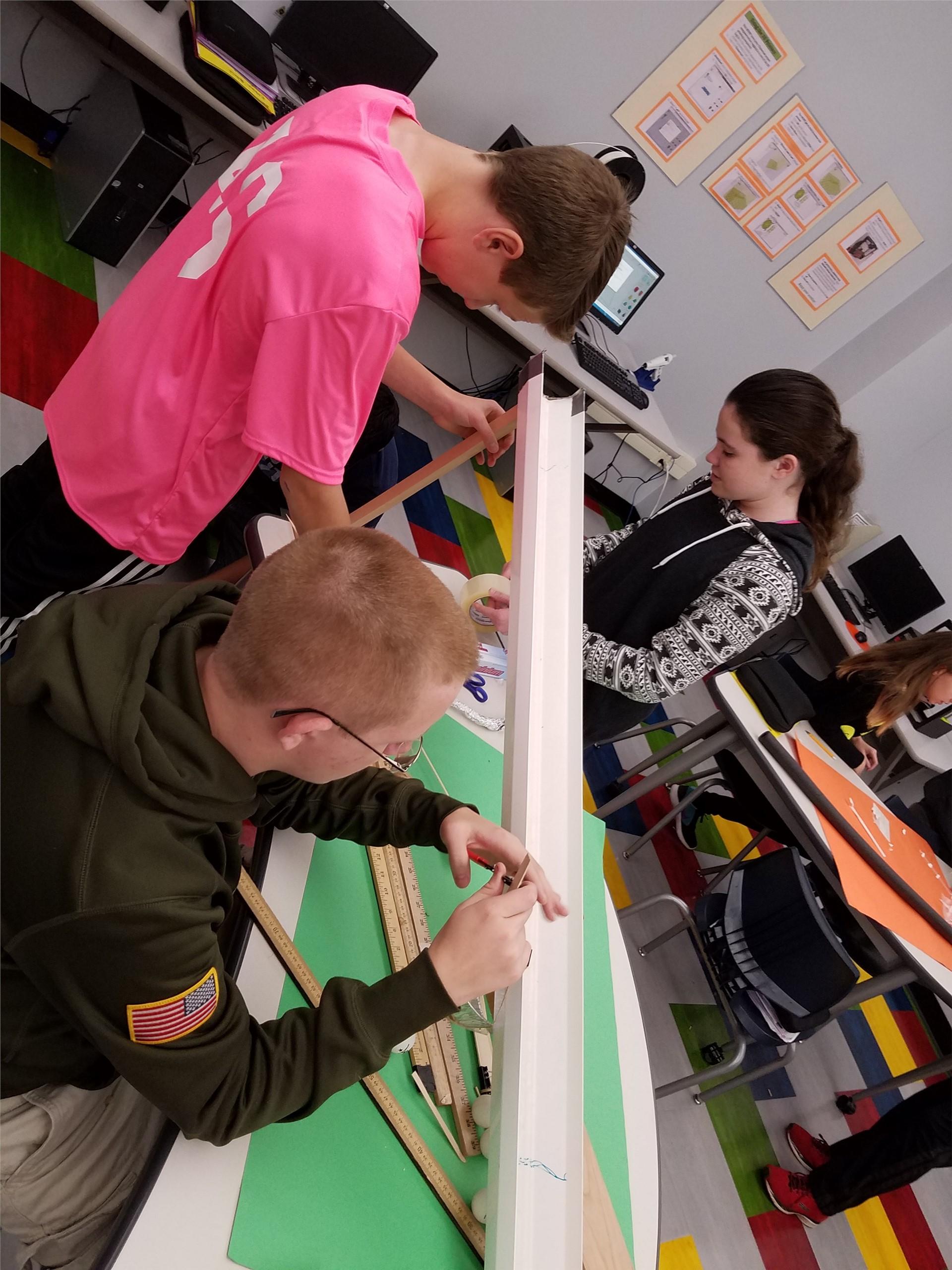 Rube Goldberg project construction