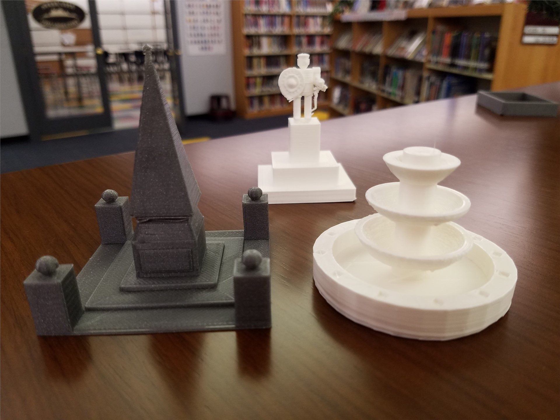 3-d printed monuments