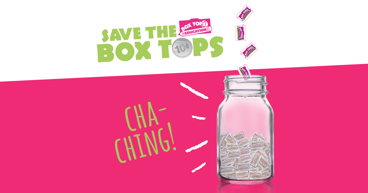 Save Box Tops for Education