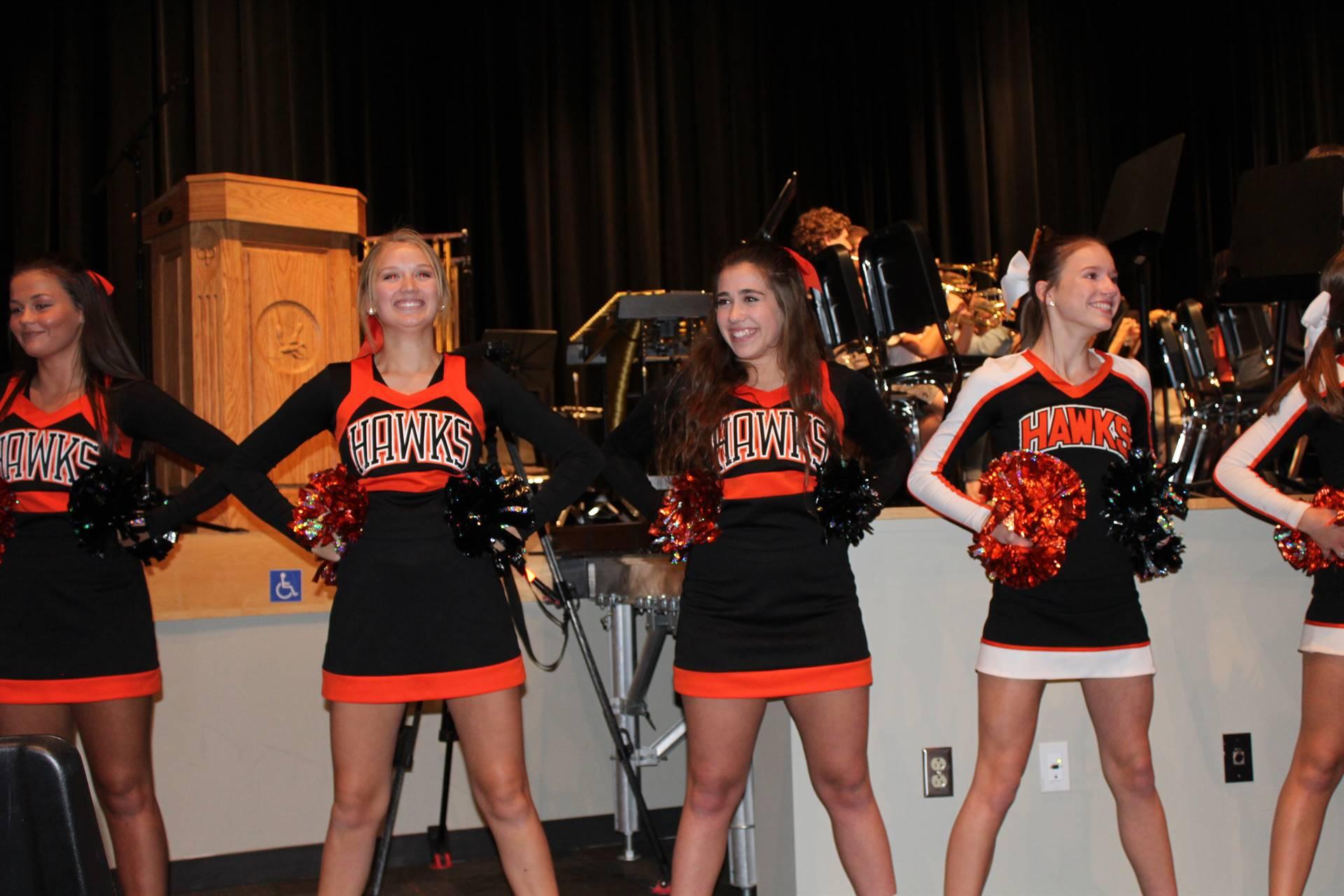 The BPHS Cheerleaders