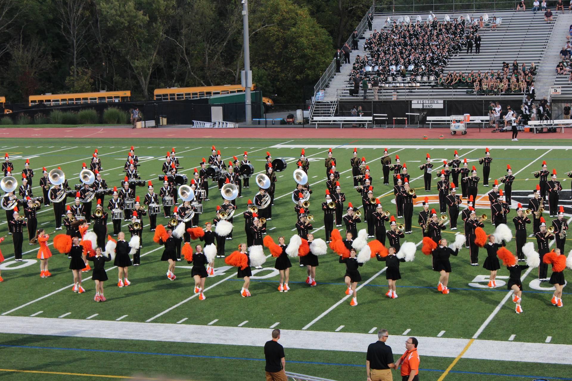 The Band at Homecoming